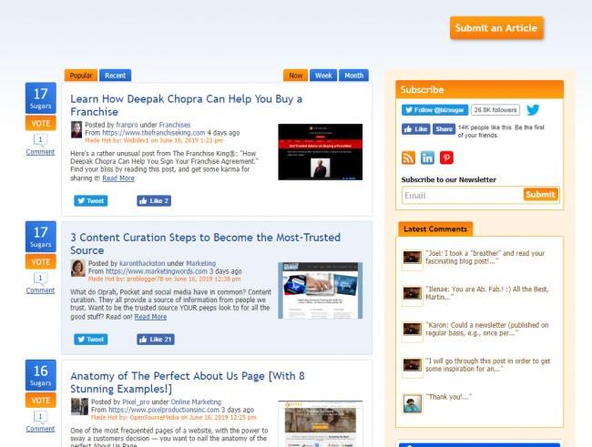 Backlink sites