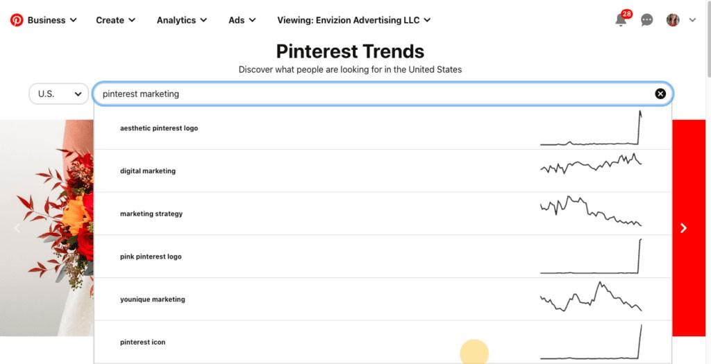 Pinterest keyword tool